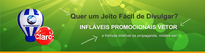 Quer Um jeito fácil de divulga? Inflávies Promocionais Vetor: A fórmula infalível da propaganda, mostre-se!