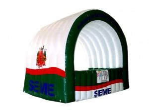 Tendas e stands infláveis